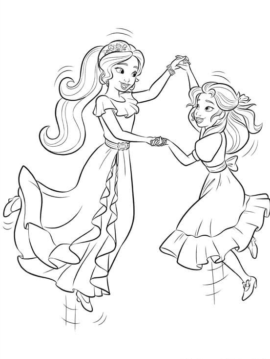 - 40 Printable Elena Of Avalor Coloring Pages - Coloring Home