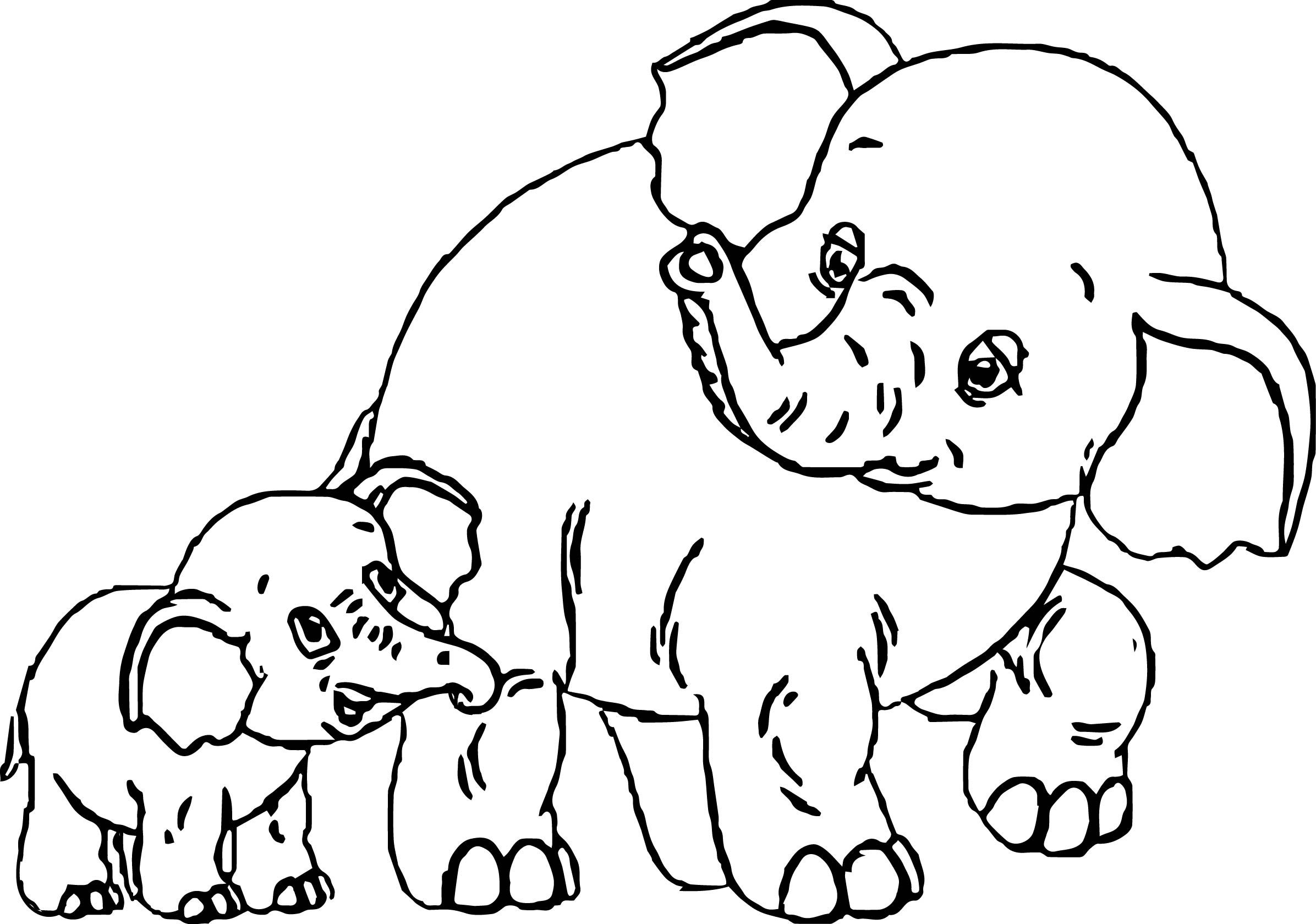 Indian Elephant Coloring Sheets Coloring Pages