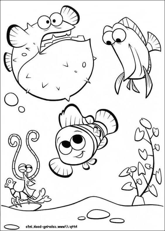 Disney, Coloring and Free printable coloring pages on Pinterest