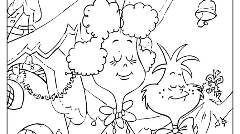Whoville Characters Coloring Pages Coloring Home