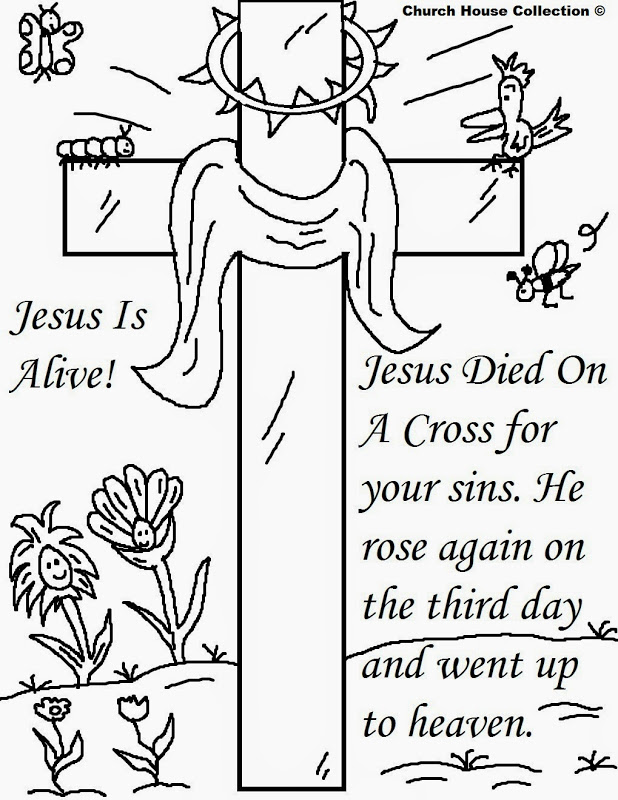 Coloring Pages For Sunday School Lessons : Sunday school lessons coloring pages az