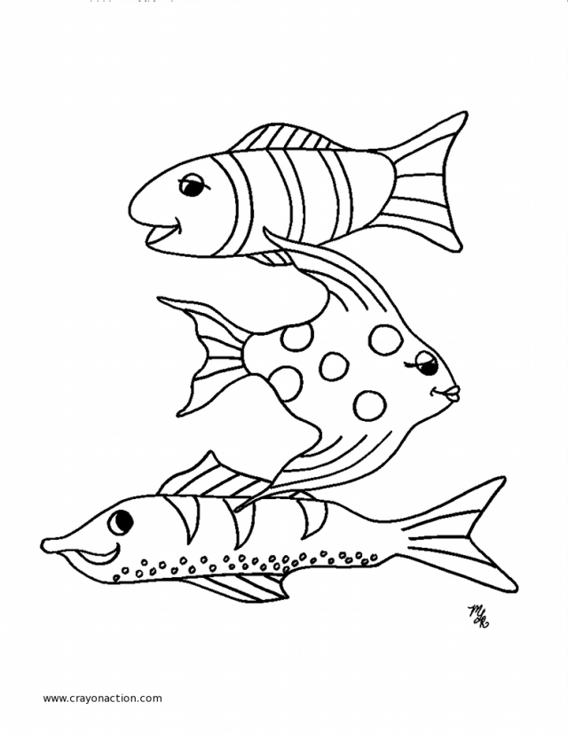 small fish coloring pages - swimming pool coloring pages coloring home