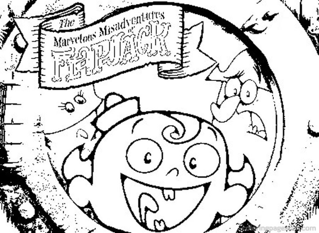 Flapjack Coloring Pages