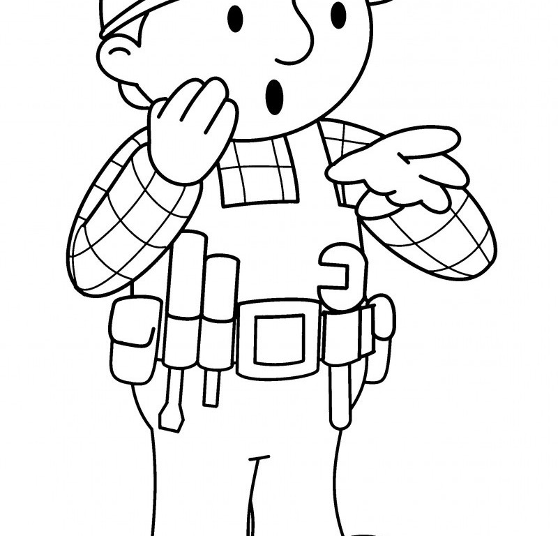 free coloring page maker - bob the builder coloring pages free az coloring pages