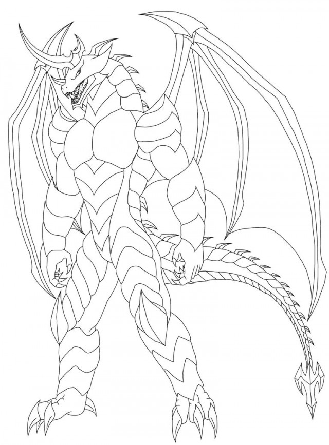 l drago coloring pages - photo #40