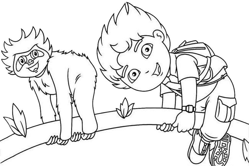 Nick Jr Coloring Pages Az Coloring Pages Nick Junior Coloring Pages