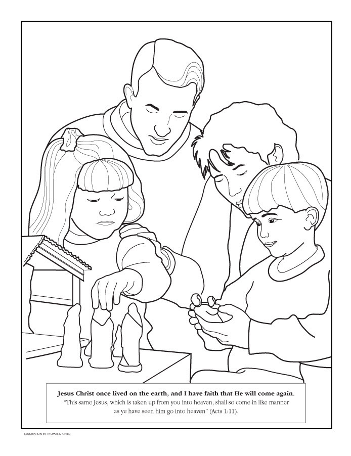 Mormon Coloring Pages Az Coloring Pages Lds Coloring Pages For