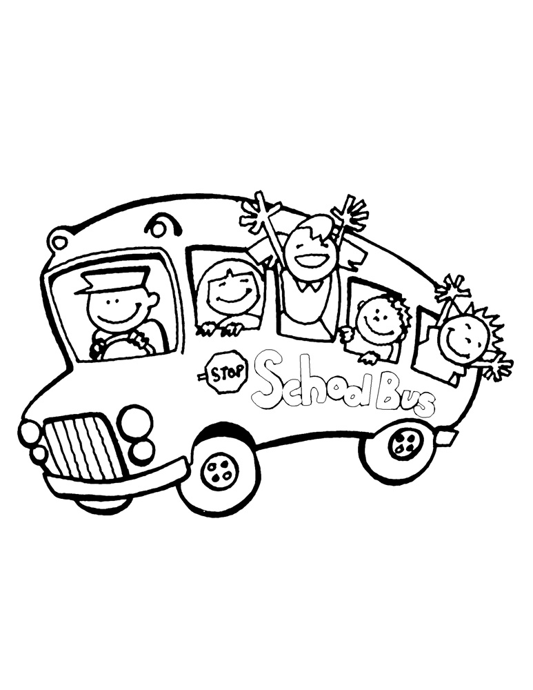 transportation coloring pages for preschoolers - photo#27