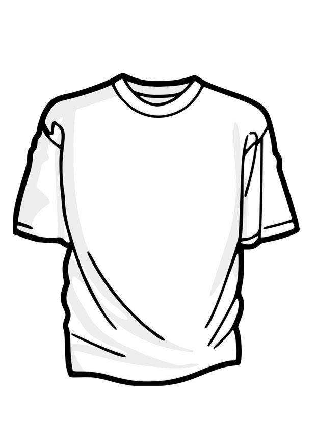 Coloring page t-shirt - img 27879.