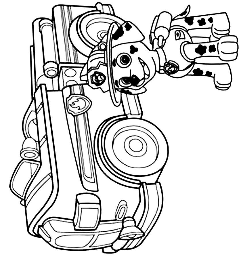 Coloring Pages For All Ages Paw Patrol : Paw patrol coloring pages to print home
