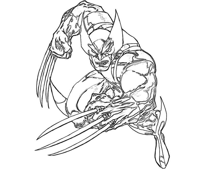 17 Wolverine Coloring Page Home