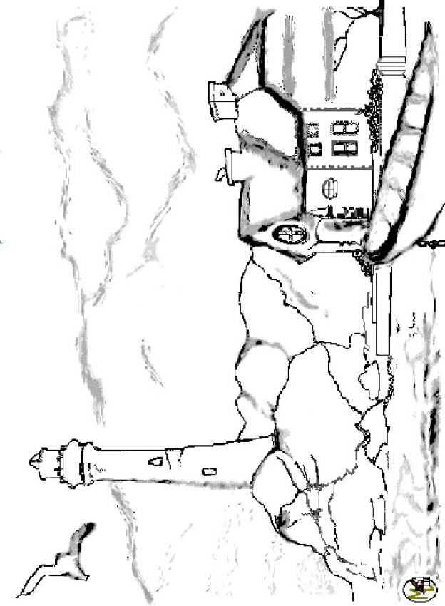 Lighthouse Coloring Page Coloring