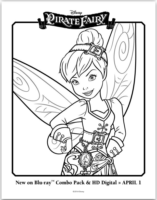 Disney Fairies Coloring Pages Games : Disney fairies pixie hollow coloring pages az