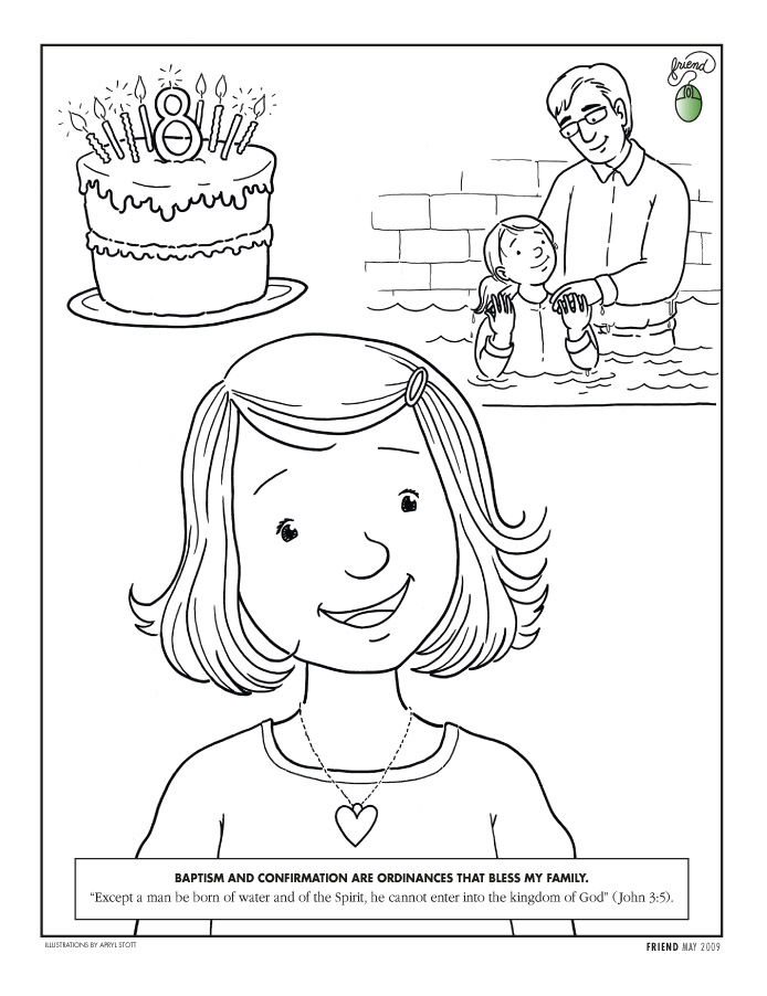 First Vision Coloring Page Az Coloring Pages Vision Coloring Page