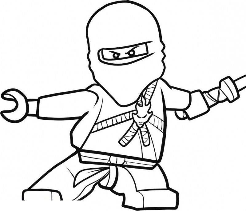 Ninjago Coloring Pages Printable Coloring Home