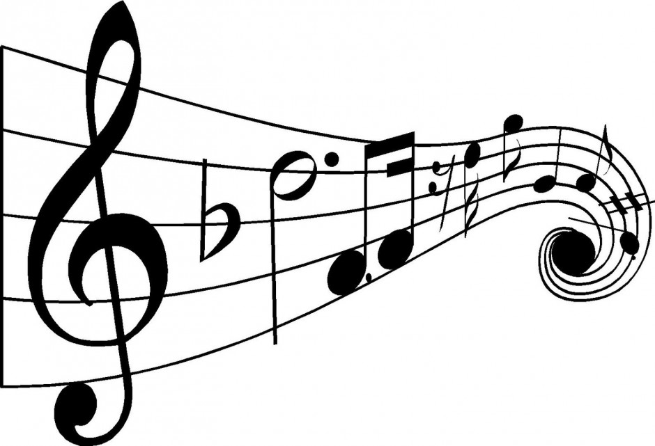 Music Note Coloring Pages Musical Flute Coloring Page Kids 142256
