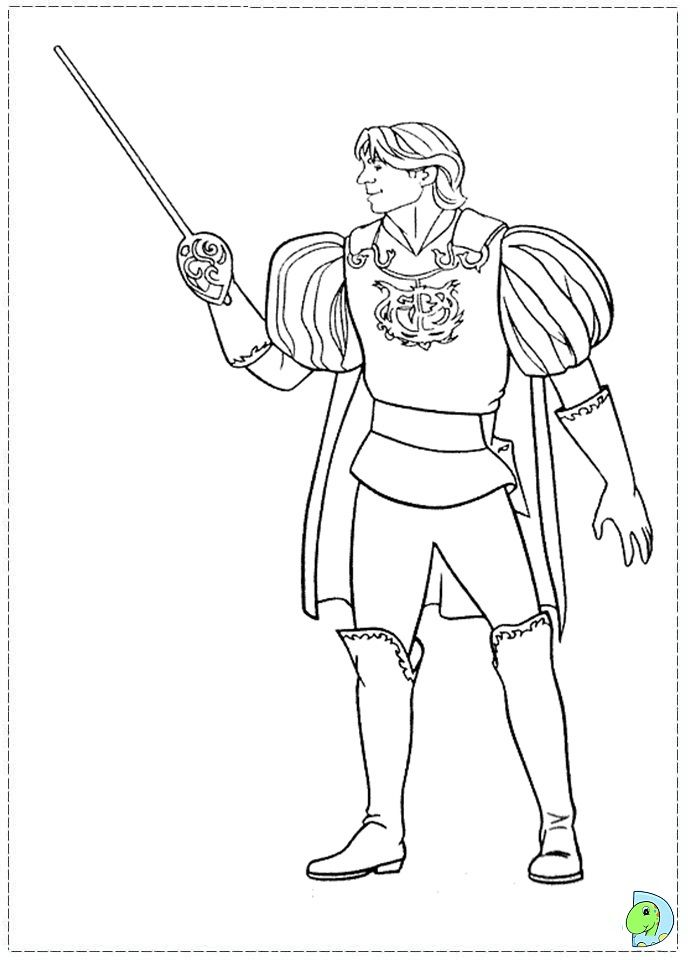 Enchanted Coloring Pages Coloring