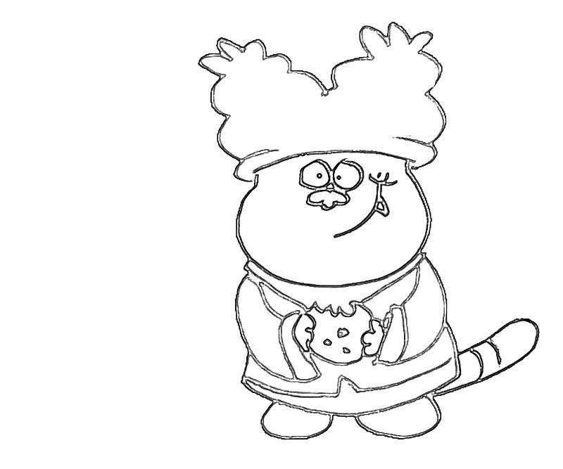Chowder Coloring Pages Coloring Home Chowder Coloring Pages