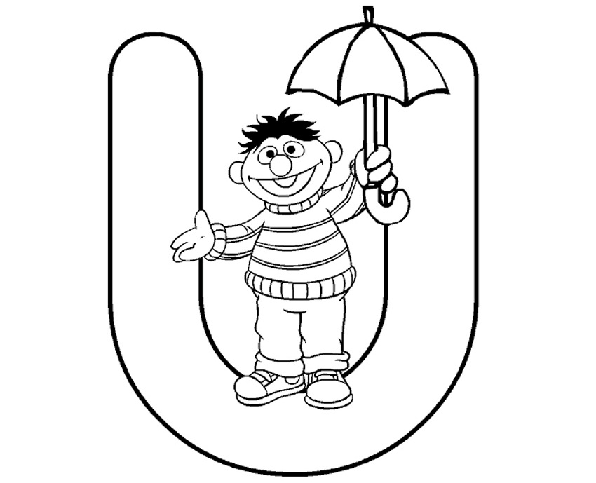baby sesame street coloring pages - photo#16