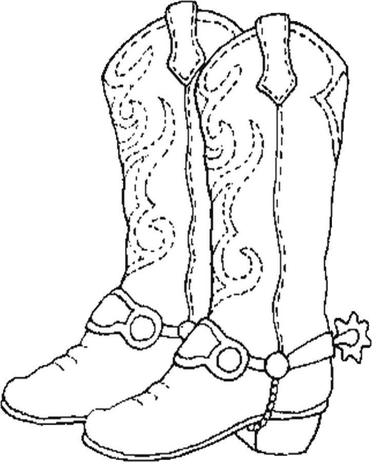 Western Themed Coloring Pages