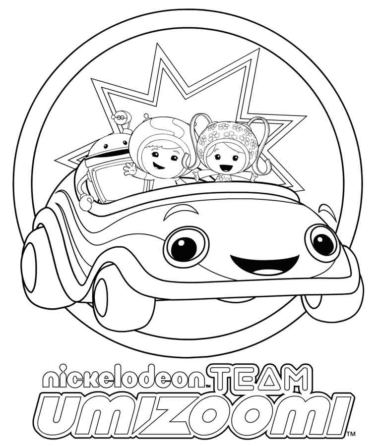 Nickelodeon Coloring Pages To Print