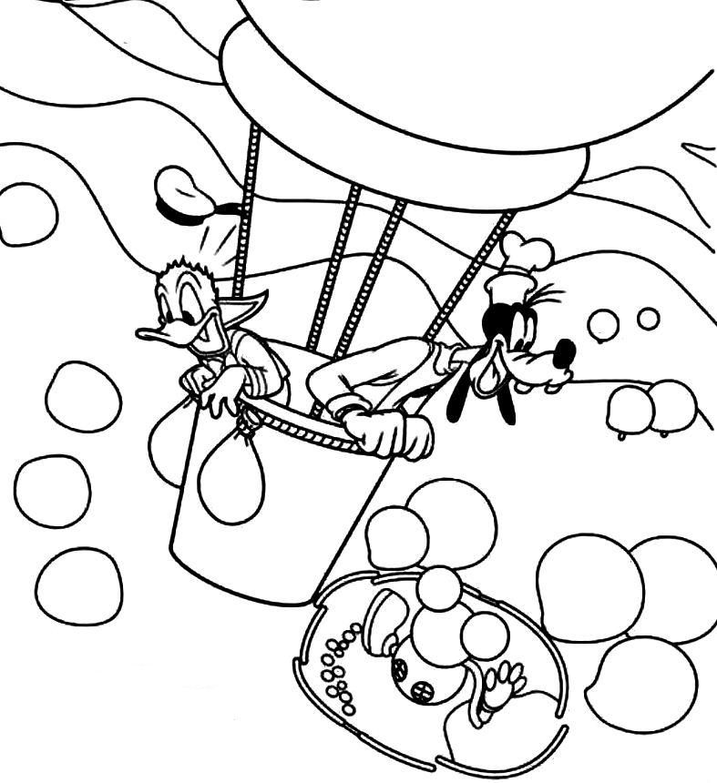 Hot air balloons coloring pages coloring home for Coloring pages balloons
