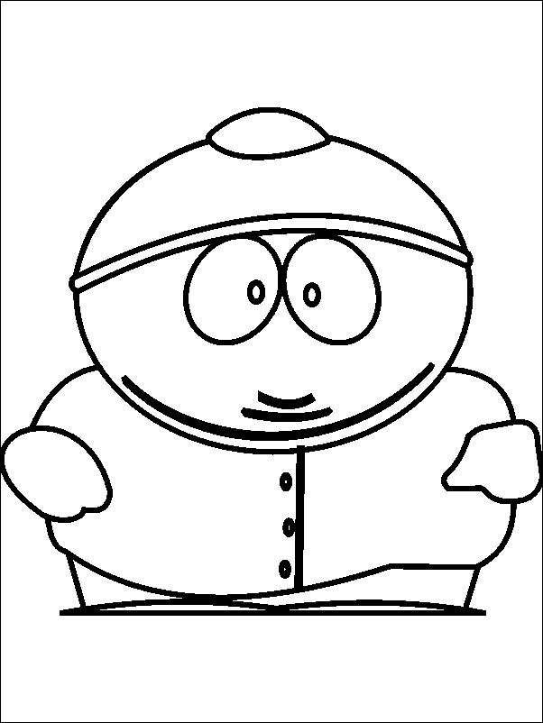 Coloring Pages Of South Park Az Coloring Pages South Park Coloring Page