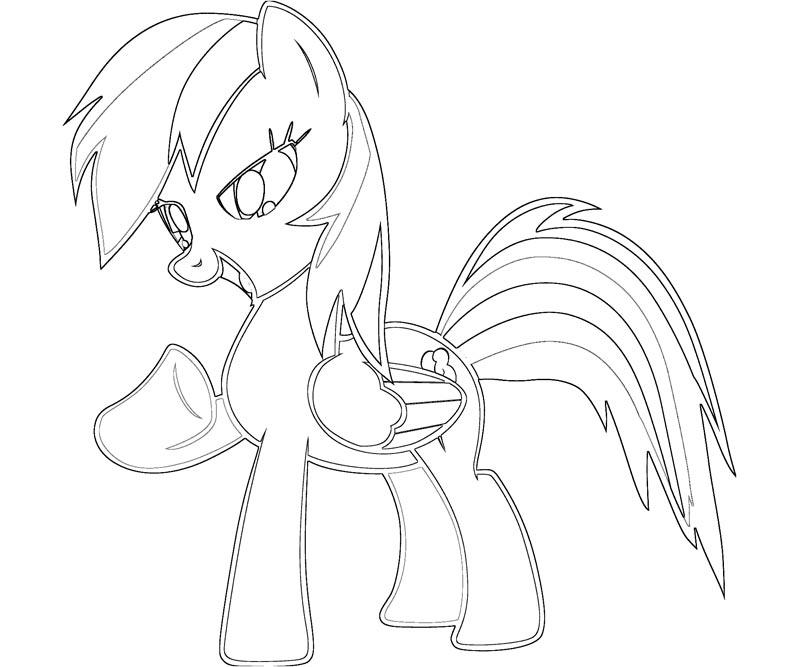 My Little Pony Rainbow Dash Coloring Pages Coloring Home Coloring Pages For My Pony Rainbow Dash