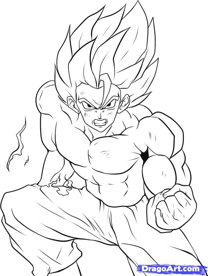 goku super saiyan coloring pages ~ Justin Bieber Picture 2011
