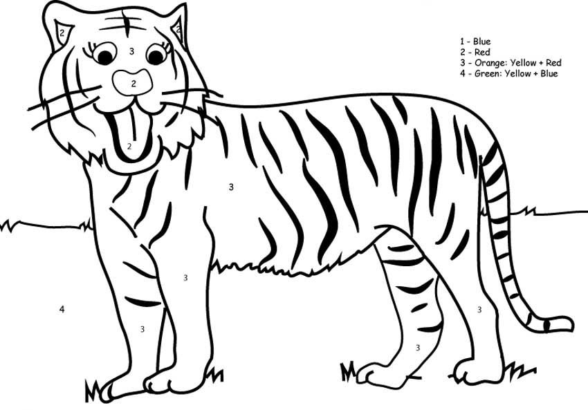 tiger coloring pages for kids free coloring pages for kidsfree