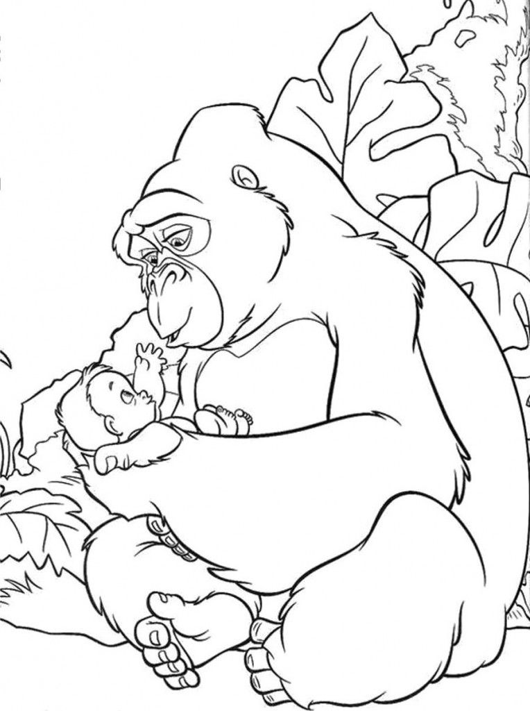 King Kong Coloring Pages Coloring