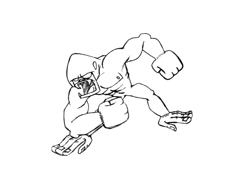 King Kong Coloring Pages Coloring Home King Kong 2017 Coloring Pages