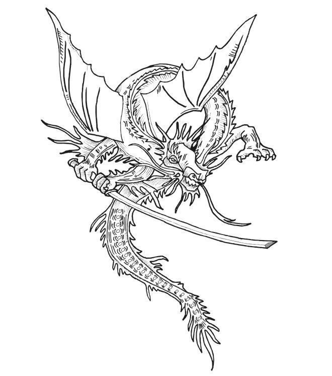 Medieval Dragon Pictures Coloring Home Midevil Dragons Coloring Pages