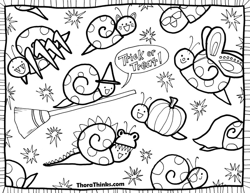 Halloween Coloring Pages Difficult : Hard Halloween Coloring Pages AZ Coloring Pages