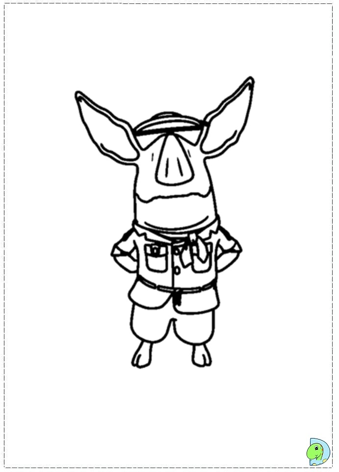 olivia the pig coloring pages to print - olivia printable coloring pages az coloring pages