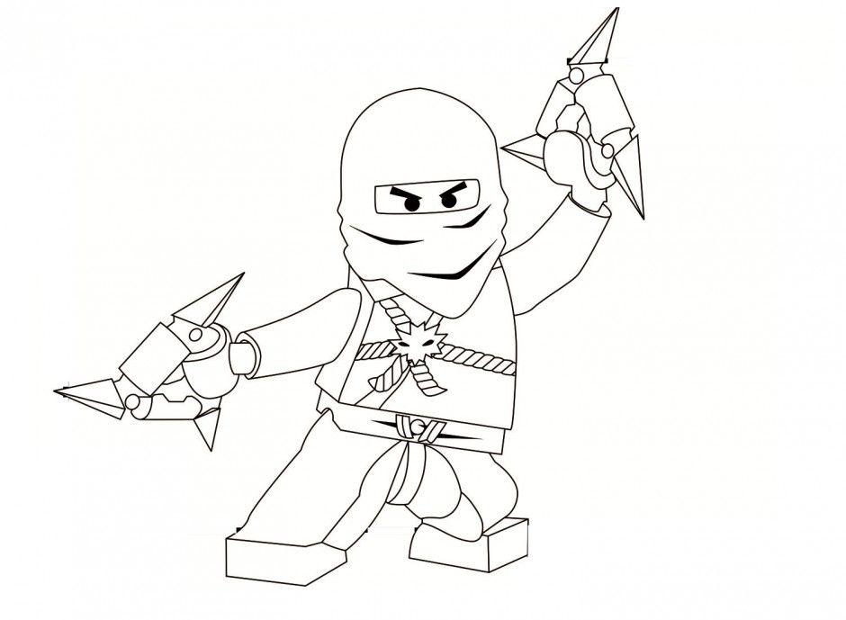 new ninjago coloring pages - photo#15