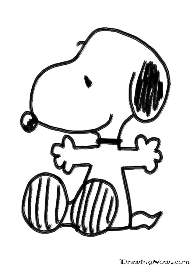 christmas snoopy coloring pages - photo#31