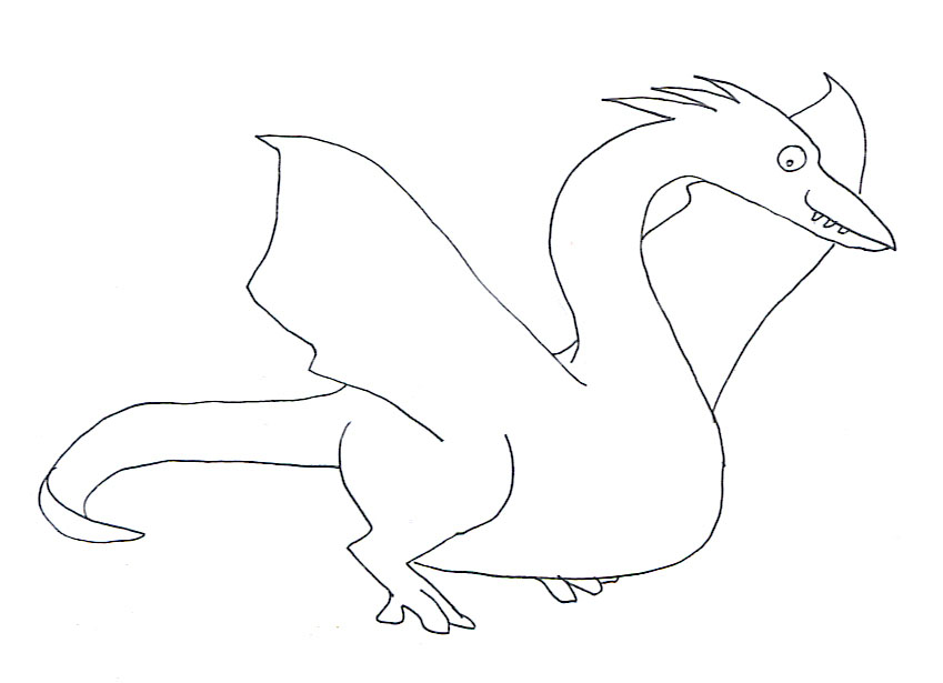 deinonychus coloring pages - photo#16