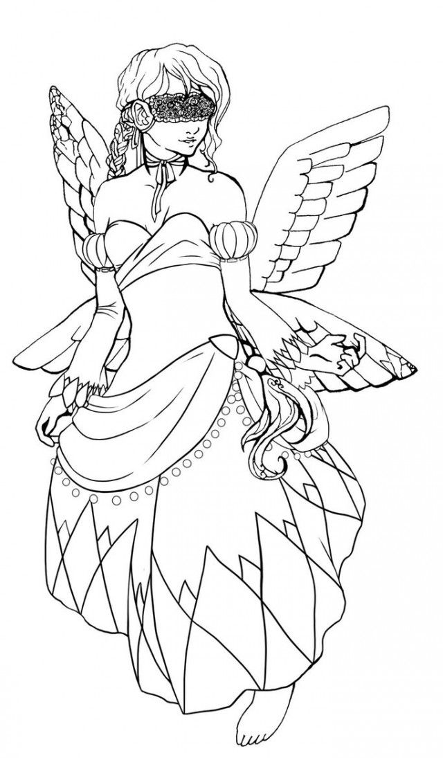 fairytopia coloring pages - photo#10
