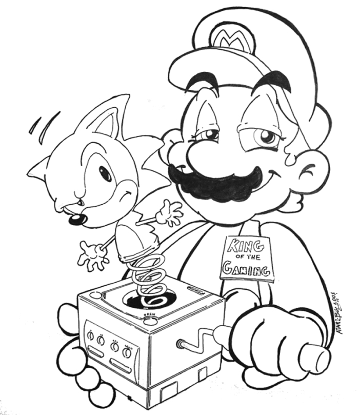 Mario And Sonic Pictures