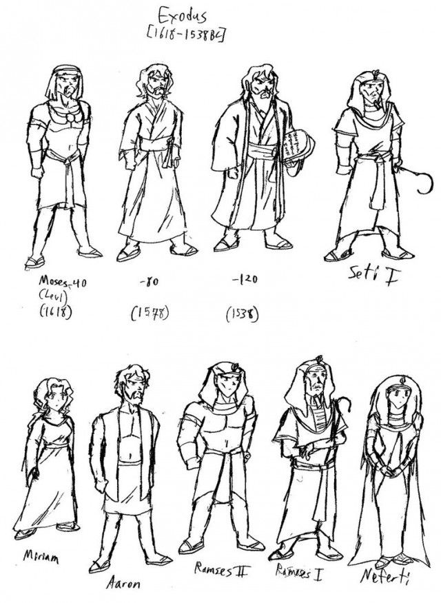 coloring pages of bible characters - photo#2