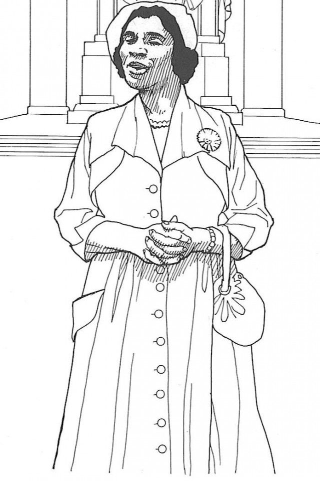 Harriet Tubman Coloring Page Coloring Home