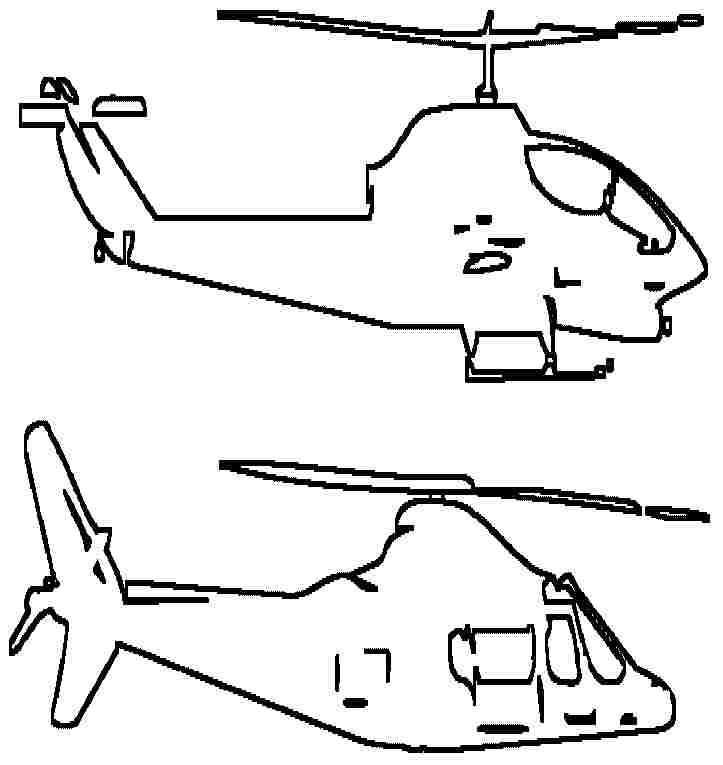 helicopter coloring pages for free - photo#35
