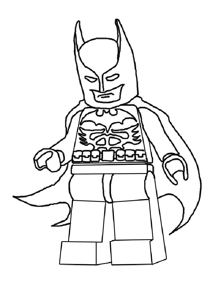 Lego batman pictures to print coloring home for Batman lego movie coloring pages