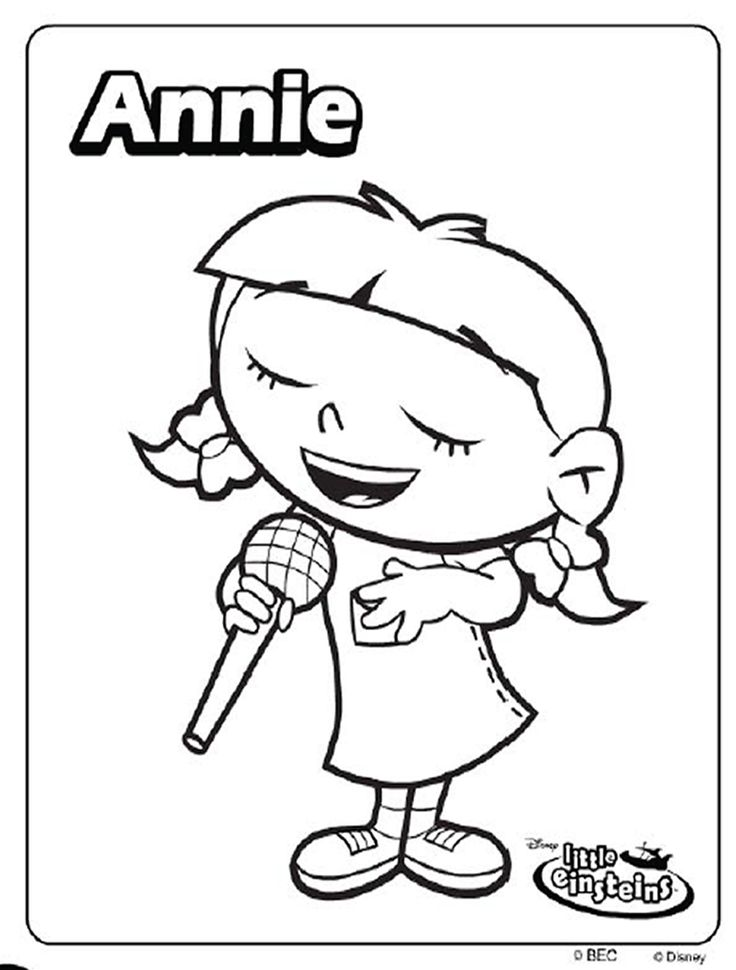 Little Einsteins Images - Coloring Home