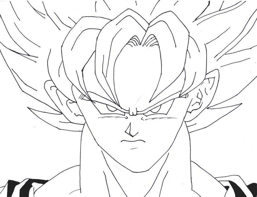 Goku Super Saiyan 5 Coloring Pages Coloring Home