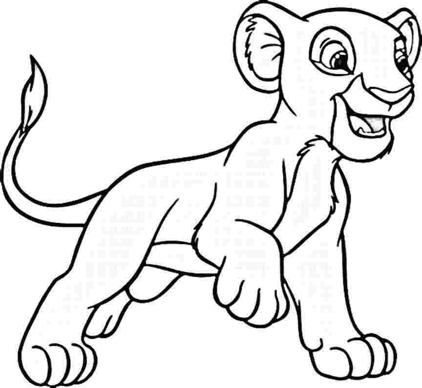 The best Lion King coloring pages