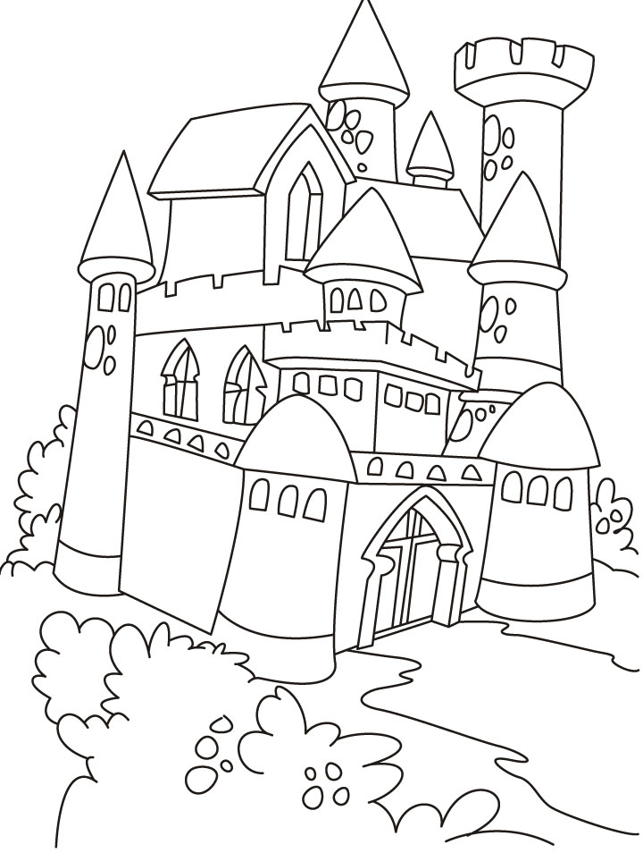 the corn palace coloring pages - photo#13