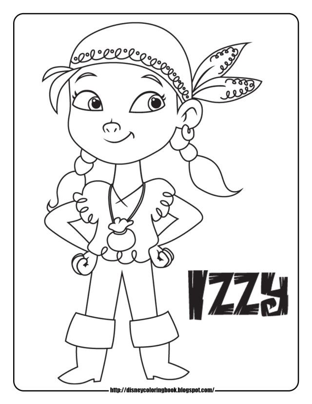 foxy the pirate coloring pages - photo#28