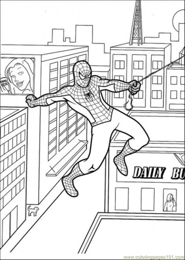 Spiderman Coloring Pages Pdf : Spiderman coloring pages pdf home